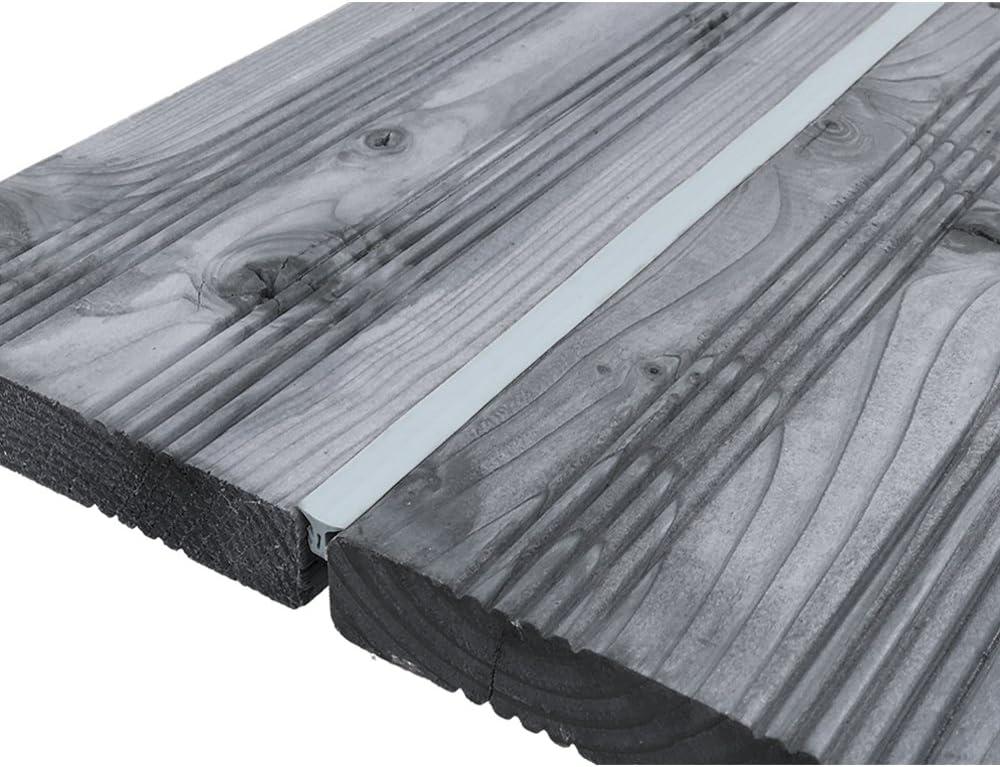 SunDeluxe Fugendichtband f/ür Terrassendielen Gr/ö/ße:Breite 5-7.5 mm // 25 m Farbe:Grau Bodenf/üllprofil//Fugendichtung f/ür alle Terrassensysteme WPC Holz Stein Terrassenfugenband Made in Germany