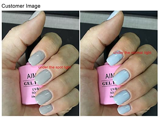amazon com aimeili soak off uv led gel nail polish wish before