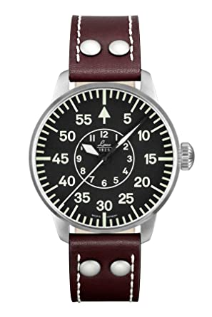 2b1e223d80f Amazon.com: Laco Type B Dial Miyota Automatic Pilot Watch 861690 ...