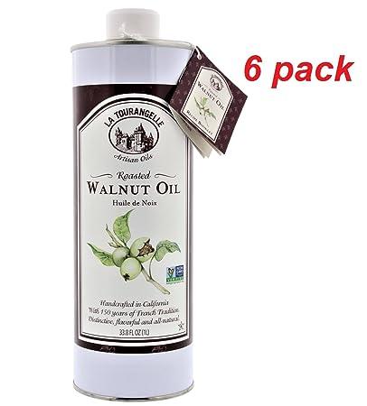 La Tourangelle Roasted Walnut Oil (33 8 fl  oz ) (6 Pack) Wholesale Price  Walnut Oil
