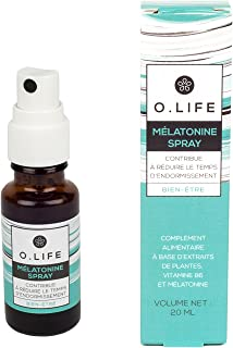O. Life – bien etre – Melatonina Spray – 20 ml – uso ...