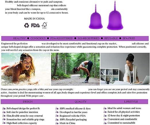 Copa Menstrual Lily Cup Compact, Copa Menstrual Reutilizable ...