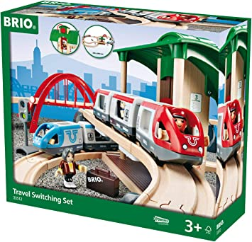 Brio 33512 Großes Bahn Reisezug Set. Brio Eisenbahn. Brio