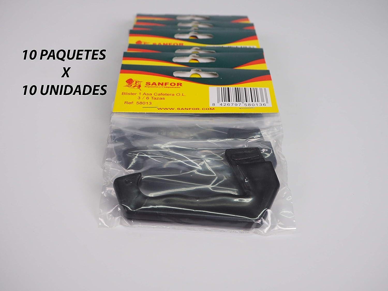 Sanfor 80045 Caja 100 Blíster Asa Cafetera O.L. 3-6 Tazas Paquetes ...