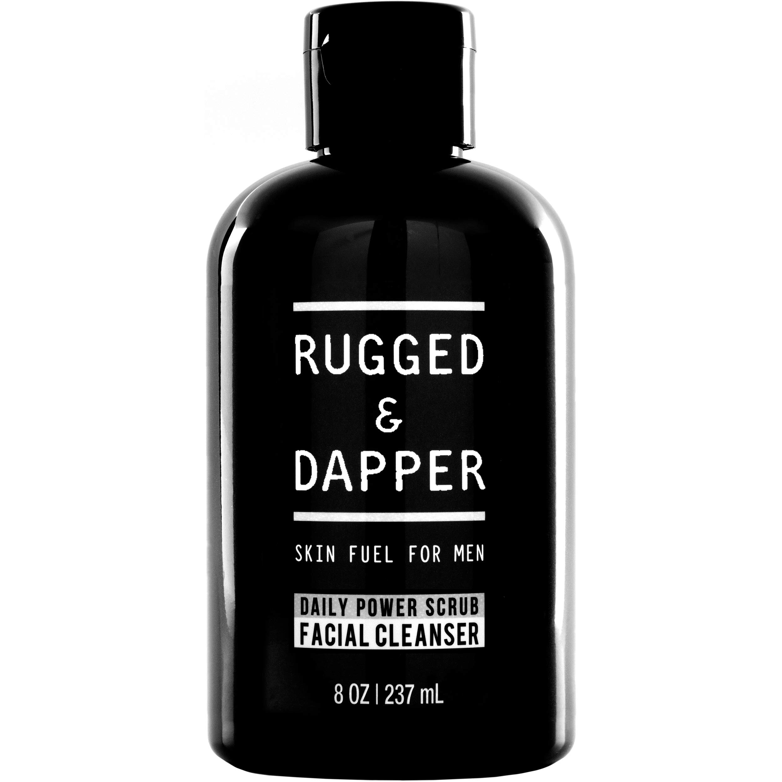 RUGGED & DAPPER Daily Face Wash and Scrub Cleanser for Men, 8 ounces by RUGGED & DAPPER