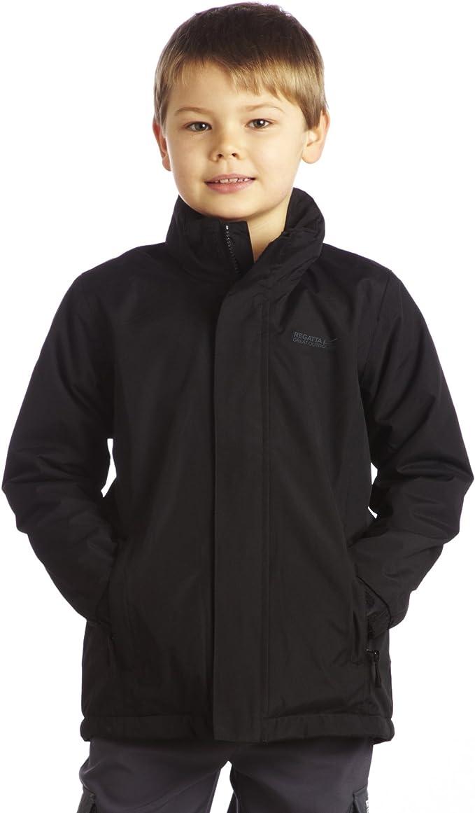 Regatta Westburn II Kids Boys Girls Childrens Waterproof Fleece Lined School Coat