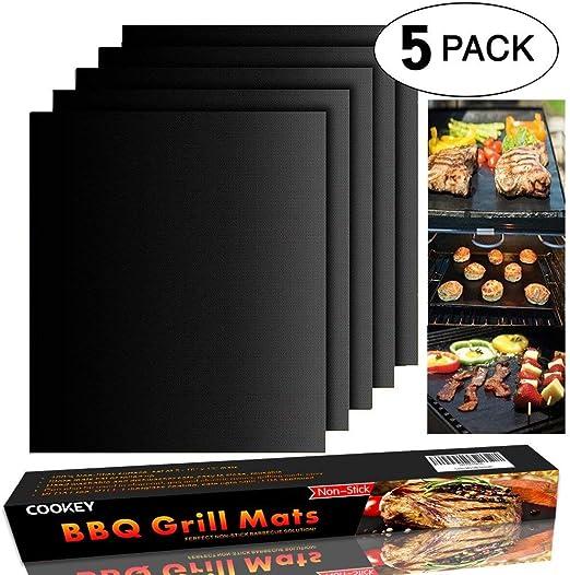 Tappetini Riutilizzabile Cucinare Cottura Barbecue Grill Mat Foglio antiaderente Forno Liner BBQ MAT