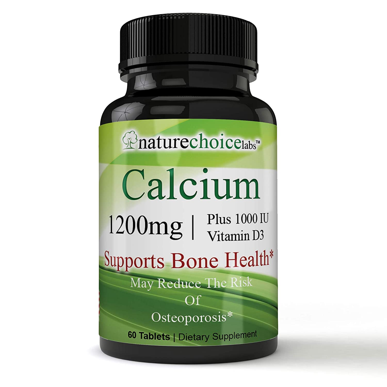 Pharmaceutical-Strength Essential Minerals Plant Based Calcium Supplement with Vitamin D3 - Bone Strength Clinical Strength with Vitamin D3