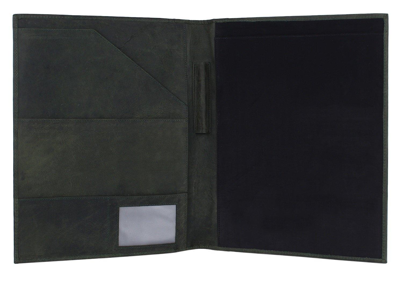 Amazon.com : Handmade Leather Luxury Business Portfolio by Rustic ...