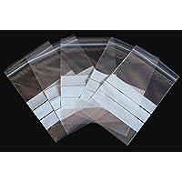 """Bolsas de plástico transparentes con auto-cierre (cierre zip)""""CON"""