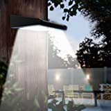 2 Pack 30 LED Solar Lights Outdoor, Avaspot【Upgraded Version】 Solar Powered Security Light, Wireless Waterproof Motion Sensor Solar Light, Outdoor Wall Light for Patio, Deck, Garden, Garage