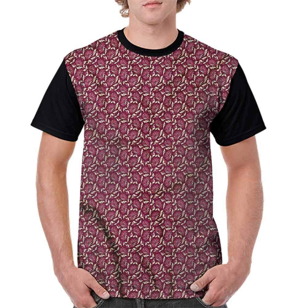 Loose T Shirt,Retro Bicycle and Balloons Fashion Personality Customization