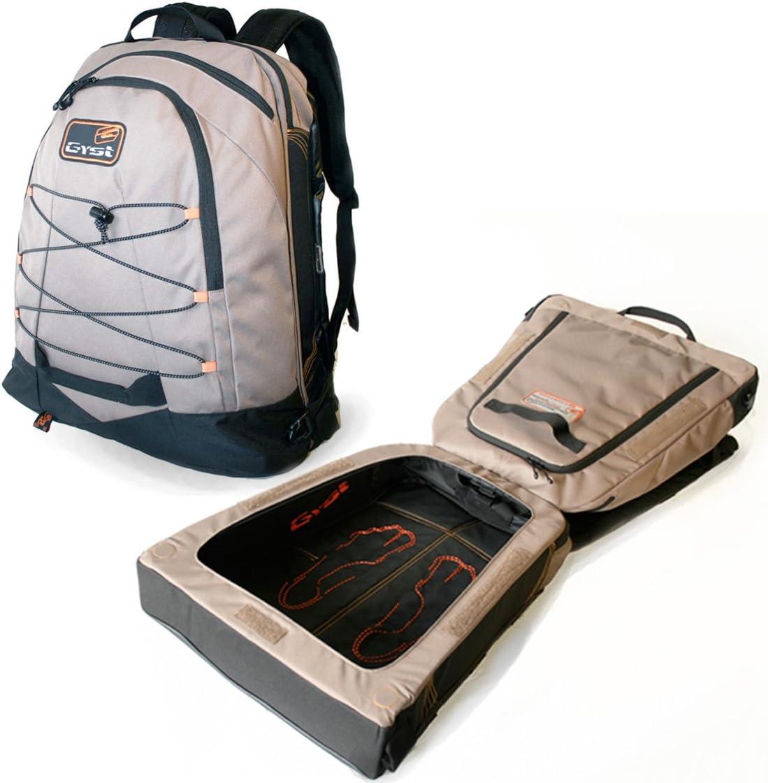 GYST BP2-10 Backpack, Brown Black