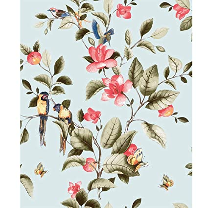 Blooming Wall Non Woven Vintage Flower Floral Wallpaper Wallpaper Wall Mural For Livingroom Bedroom Kitchen Bathroom 208 In328 Ft57