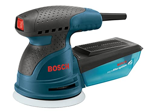 Bosch ROS20VSC Random Orbit Sander with Carrying Bag, 5-Inch, Blue