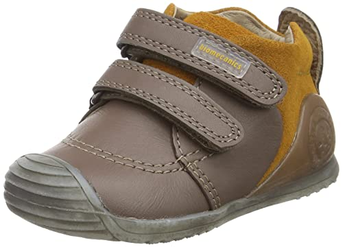 Biomecanics 161143, Zapatos para Bebé, Marrón (Humo Y Mostaza), 21 EU