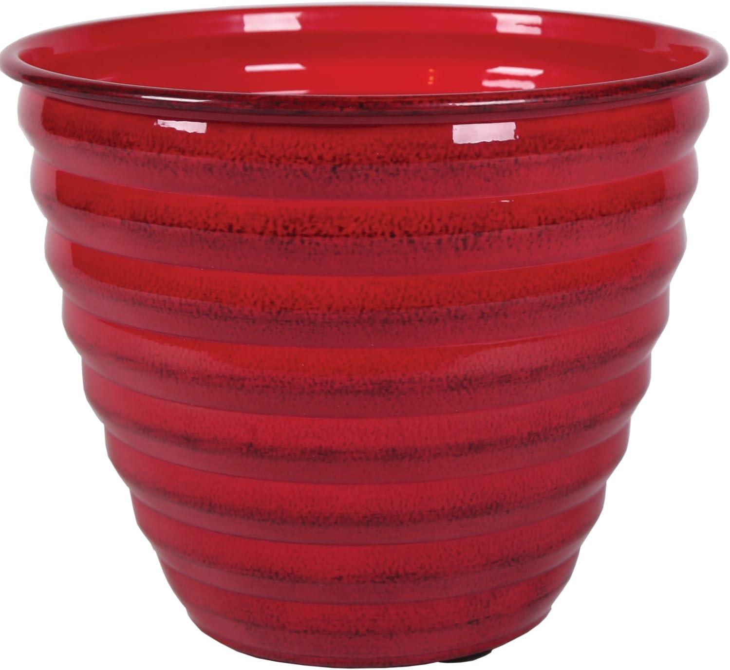 Robert Allen MPT01614 Avondale Classic Flower Pot, 10 , Autumn Blaze