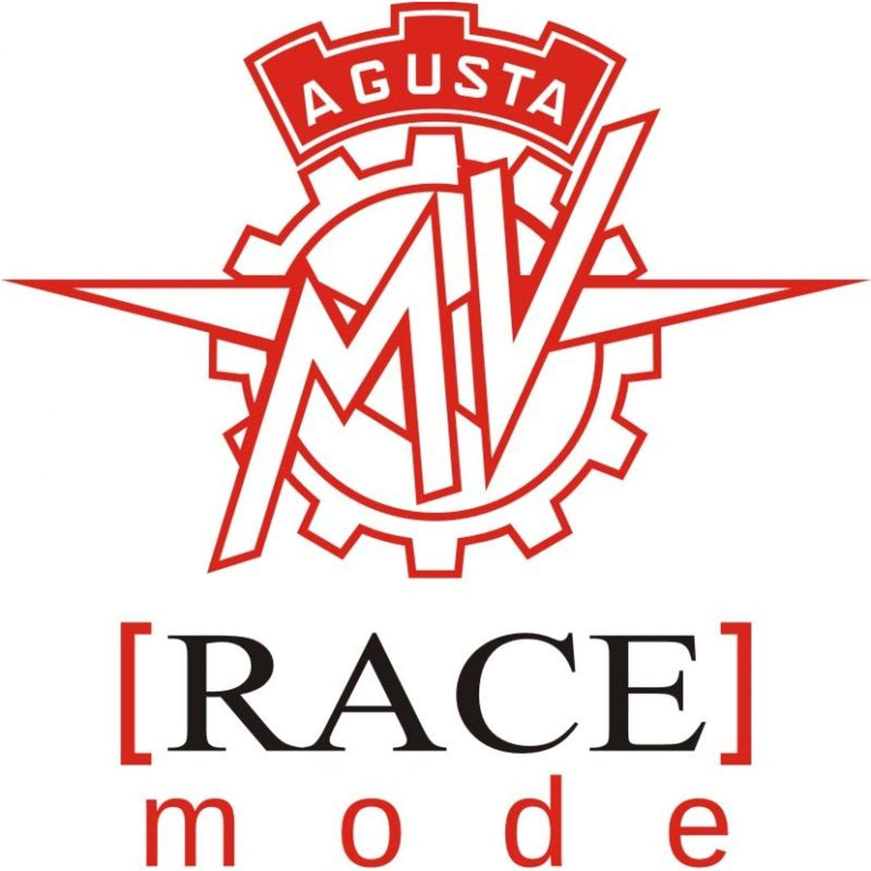 myrockshirt Motorradaufkleber MV Agusta Race Mode Logo ca.15cm Aufkleber Sticker Decal Profi-Qualit/ät ohne Hintergrund Bike Tuning