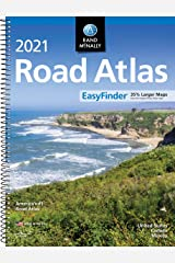 Rand McNally 2021 EasyFinder® Midsize Road Atlas (Rand McNally Road Atlas) Spiral-bound