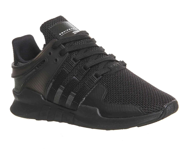 Adidas Equipment Support a, Zapatillas para Mujer 7|core black/core black/ftwr white