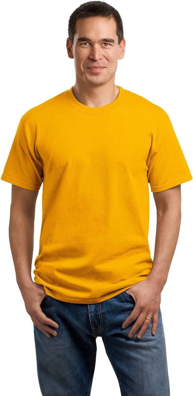 Orange Port /& Company/® 5.4-oz 100/% Cotton T-Shirt Medium