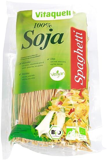 Spaghetti gratis de 100% orgánico sin azúcar soja gluten