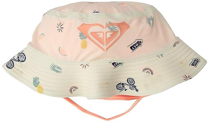 21285b4c Roxy Junior's Bobby Bucket Little Girl Hat, Bright White Bike Ride, One Size
