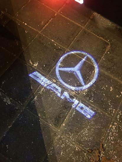 Par de proyector LED para puerta Mercedes logo AMG courtoisie ...