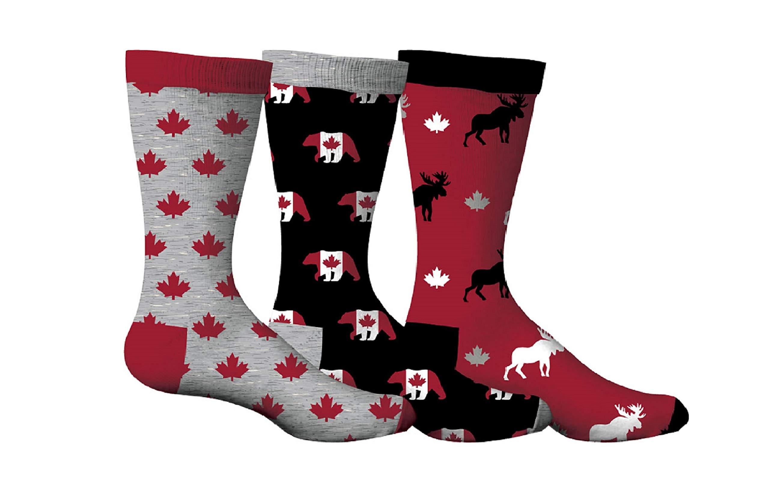 3cbb2acc98ad Densley   Co Men s Fun Dress Socks 3-Pack (Various Designs) product image