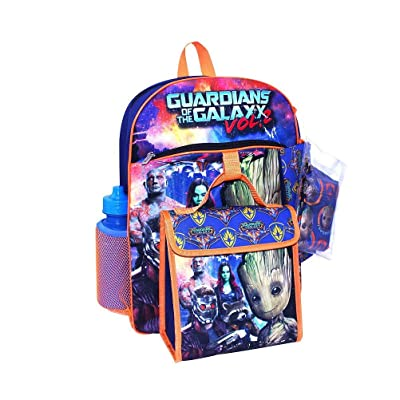 Guardians of the Galaxy Vol. 2 Groot 5 Piece Backpack Back to School Set