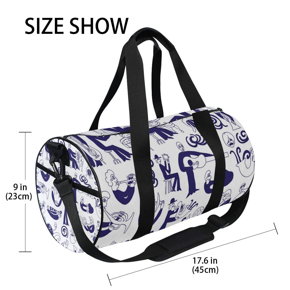 Joy Music ImageWaterproof Non-Slip Wearable Crossbody Bag fitness bag Shoulder Bag