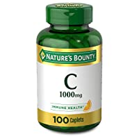 Vitamin C by Nature's Bounty, Immune Support, Vitamin C 1000mg, 100 Caplets