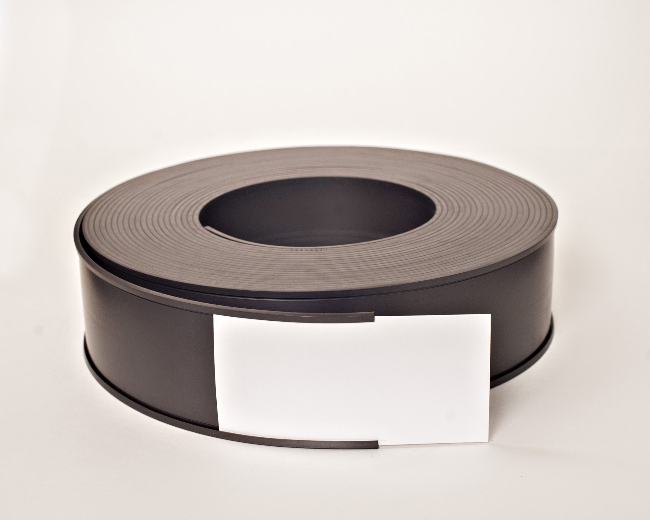 3.12'' x 50' Roll Magnetic Data Cardholder C-Channel - Shelf Labels by Discount Magnets