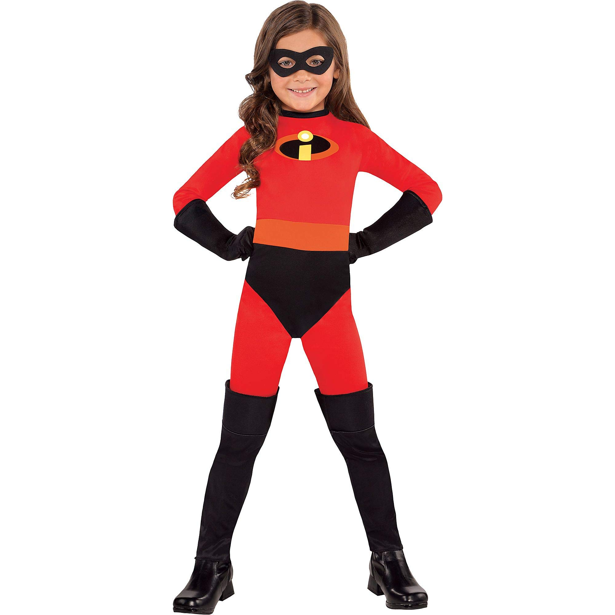 Party City The Incredibles Violet Halloween Costume, 3-4T, with Included Accessories