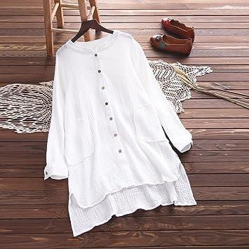 d553b61cf92f7 Long Sleeve Cardigan Shirt Clearance Women's Loose Fit Button Down ...