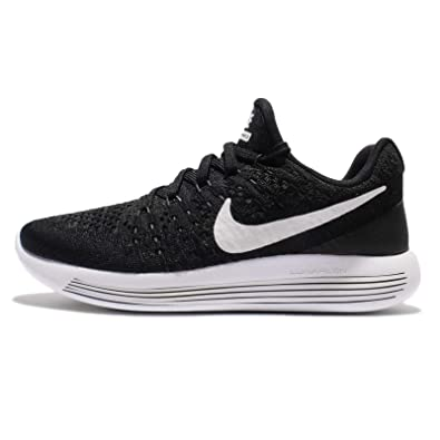 c4e7d7fda6a4 Nike Womens Lunarepic Low Flyknit 2 Black White Anthracite Running Shoe  10.5 Women US  Amazon.co.uk  Shoes   Bags