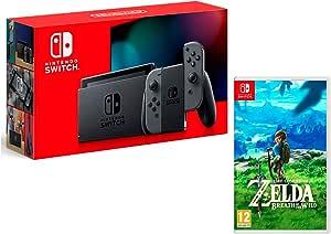 Nintendo Switch 32Gb Gris + The Legend of Zelda: Breath of The Wild