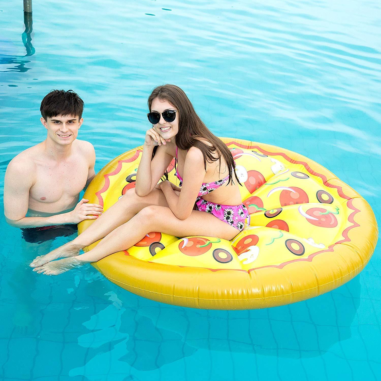 Pizza Hinchable Colchonetas Isla Flotante De Piscina ...