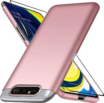 UCMDA Funda para Samsung Galaxy A80 con Protector de Pantalla ...