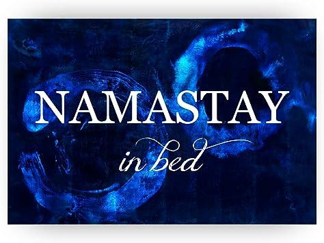 Amazon Com Namastay In Bed Zen Decor Spa Decor Zen Room Decor