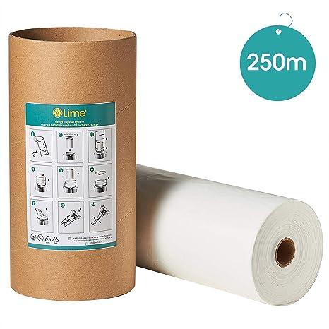 Recarga compatible con Tommee Tippee Recambios Sangenic y Angelcare para pañales minimizar los olores + rollo de cartón, 200m + 50m gratis