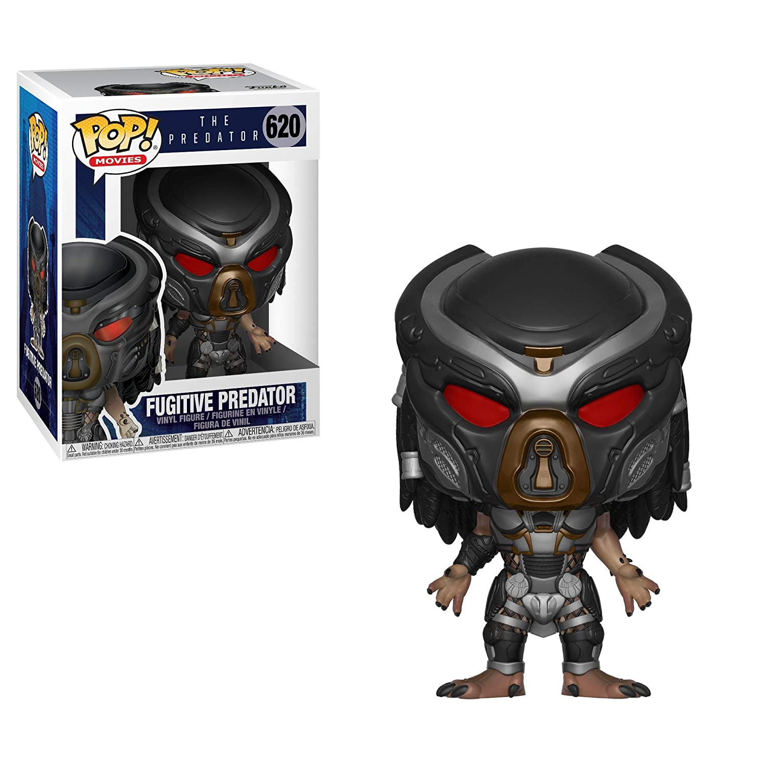 Funko 31299 Pop Movies: The Predator - Fugitive (Styles May Vary)  Collectible Figure, Multicolor