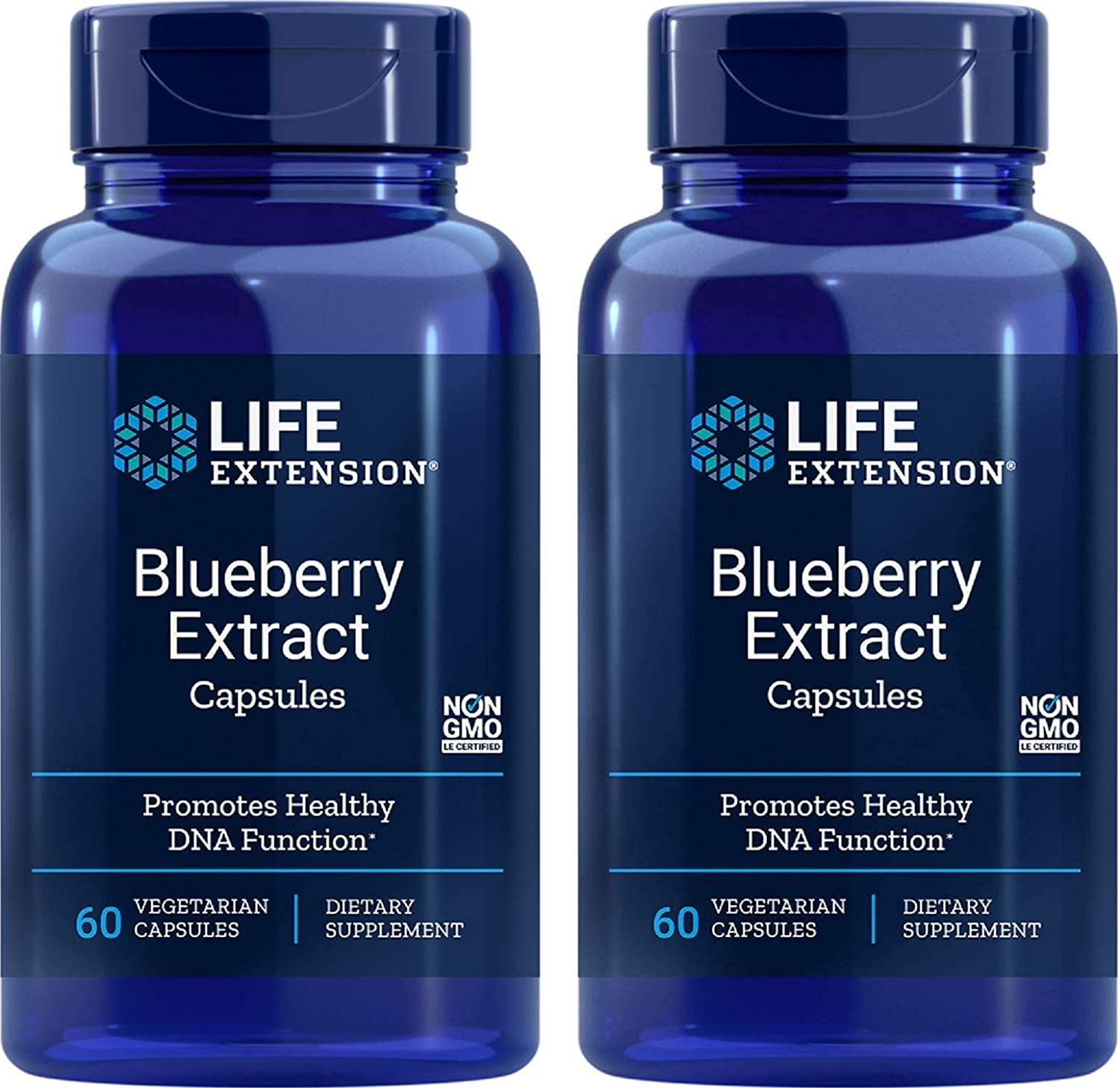 Blueberry Extract 60 VegiCaps (Pack of 2)