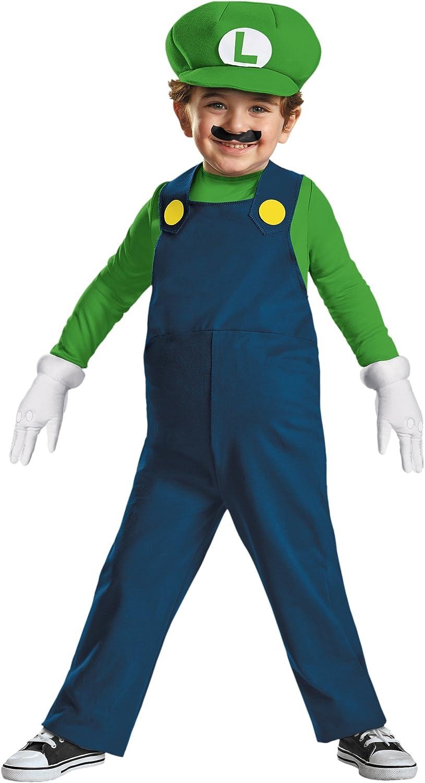 Amazon Com Nintendo Super Mario Brothers Luigi Boys Toddler