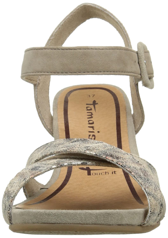c9abb99e4a698 Schuhe Tamaris Damen 28301 Slingback amp  Handtaschen Sandalen 7ZvfZxq