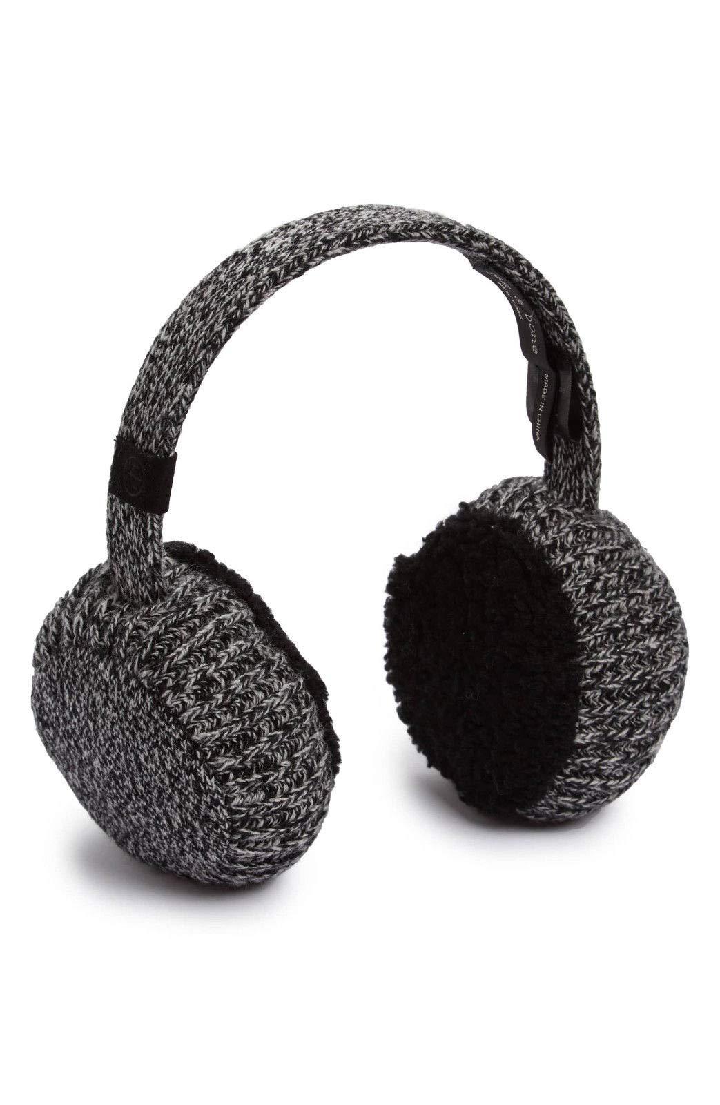Rag and Bone Black Cashmere 'Sutton' Earmuffs $195