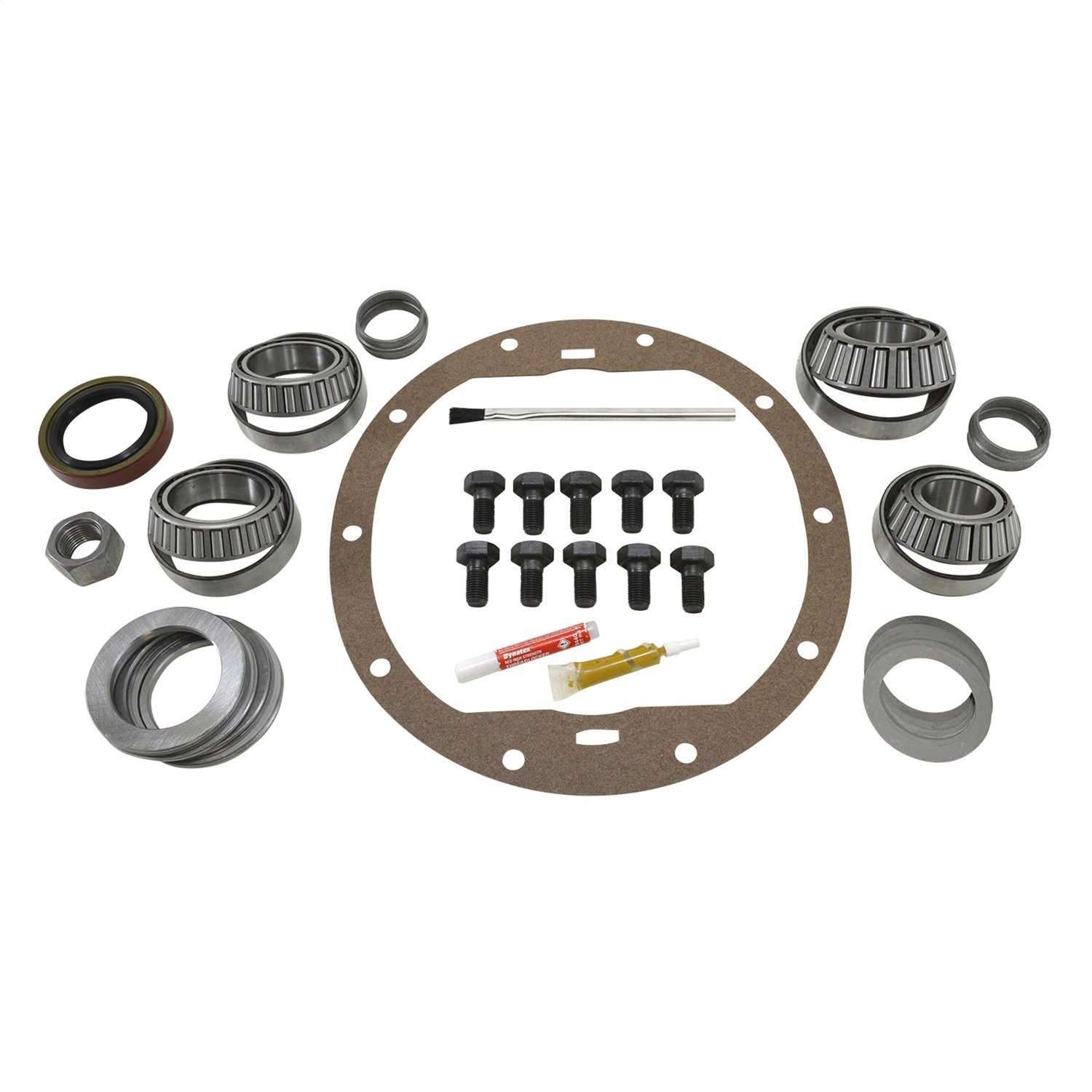 USA Standard Gear (ZK GM8.5-HD) Master Overhaul Kit for GM 8.5 Differential with HD Positraction/Locker