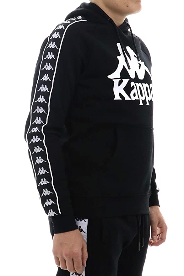 Amazon.com: Kappa 222 Banda Hurtado - Sudadera con capucha ...