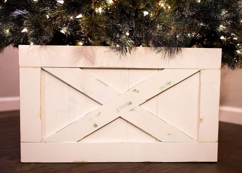 Finn & Co - Falda de Madera para árbol de Navidad: Amazon.es: Hogar