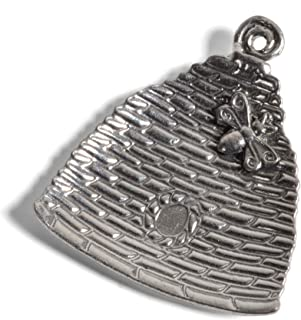 product image for Crosby & Taylor Beehive Pewter Teabag Holder Trinket Dish